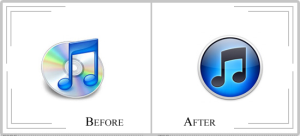 iTunes Logo Redesign